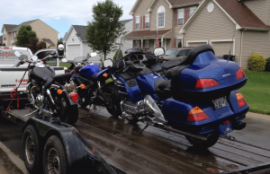 Loaded up and ready