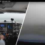 April 14, 2021 Today, I went flying in the rain